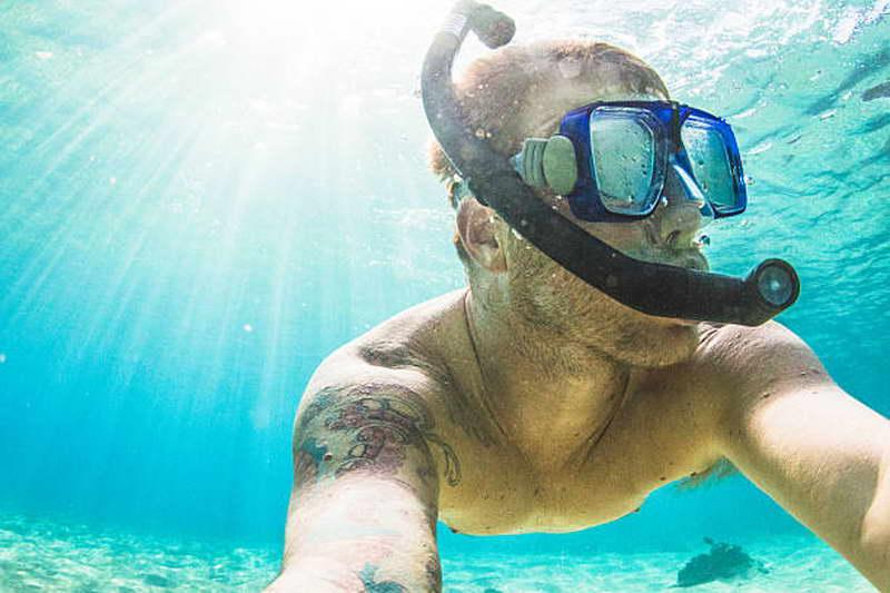 snorkeling sesimbra