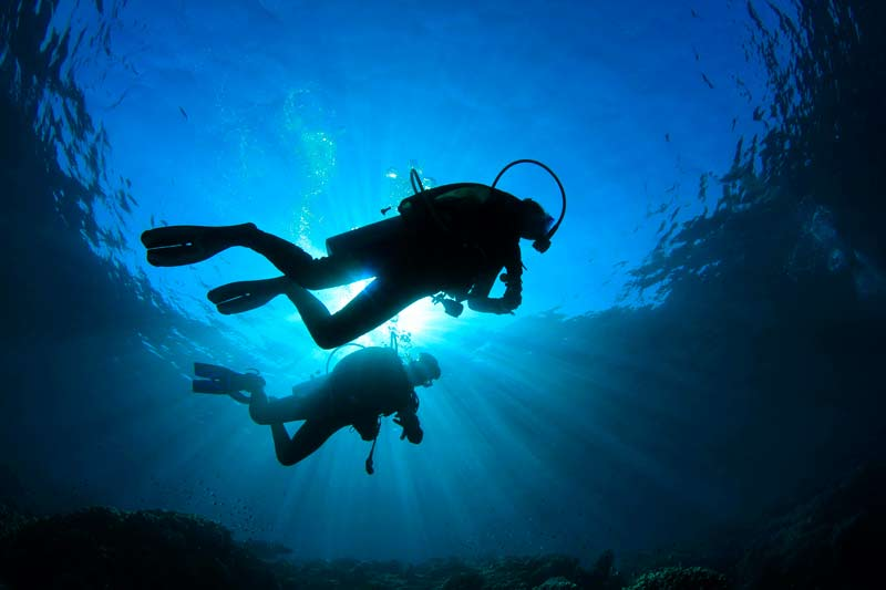 Scuba diving madeira