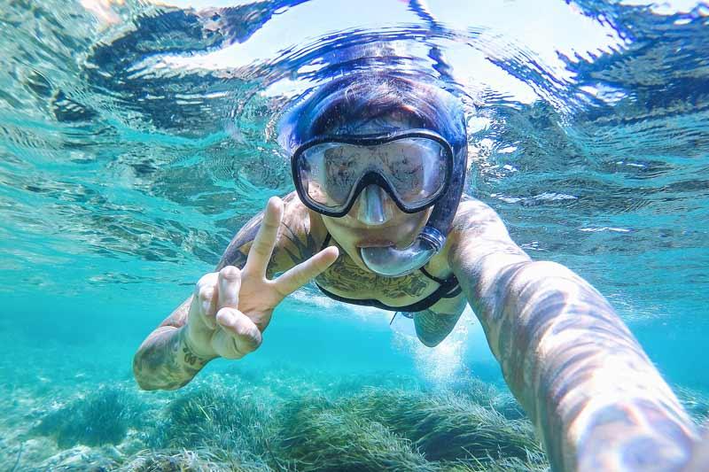 snorkeling azores