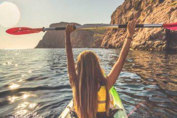 kayaking azores