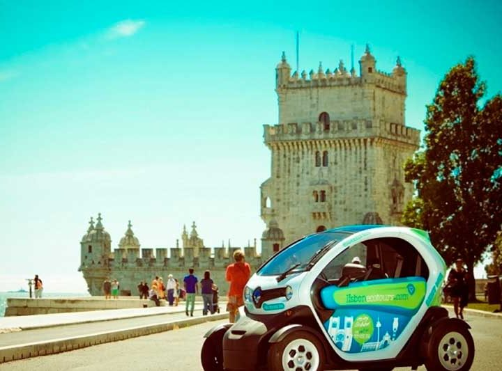 Lisbon Twizzy Car Tours