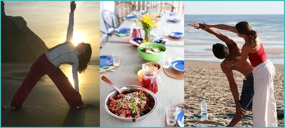 yoga holidays in the Algarve
