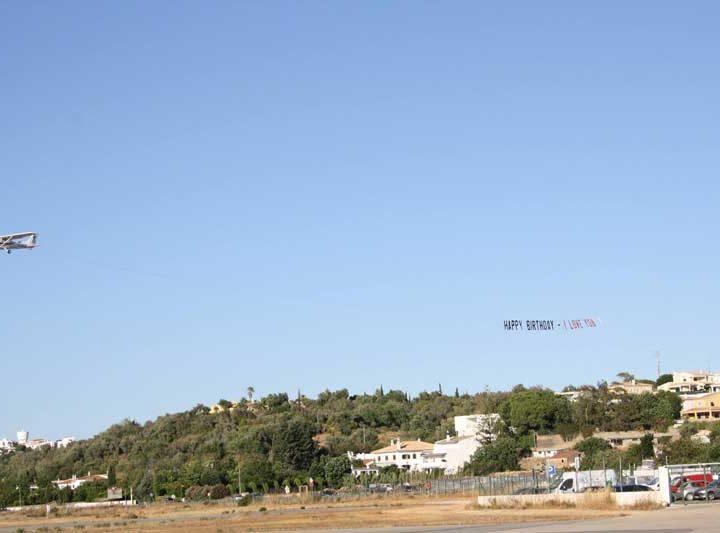 Banner flights