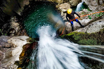 canyoning in madeira