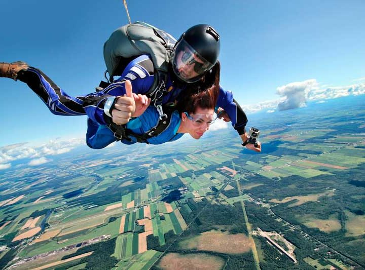 evora skydiving