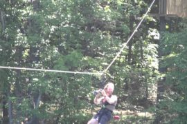 tree top assault course